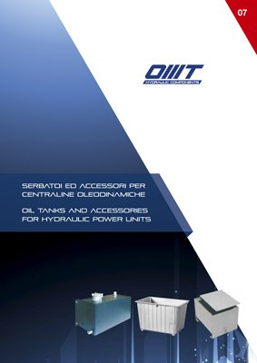 Catalogo OMT serbatoi