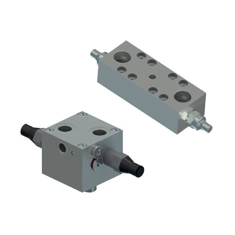 Counterbalance motor flangeable valves