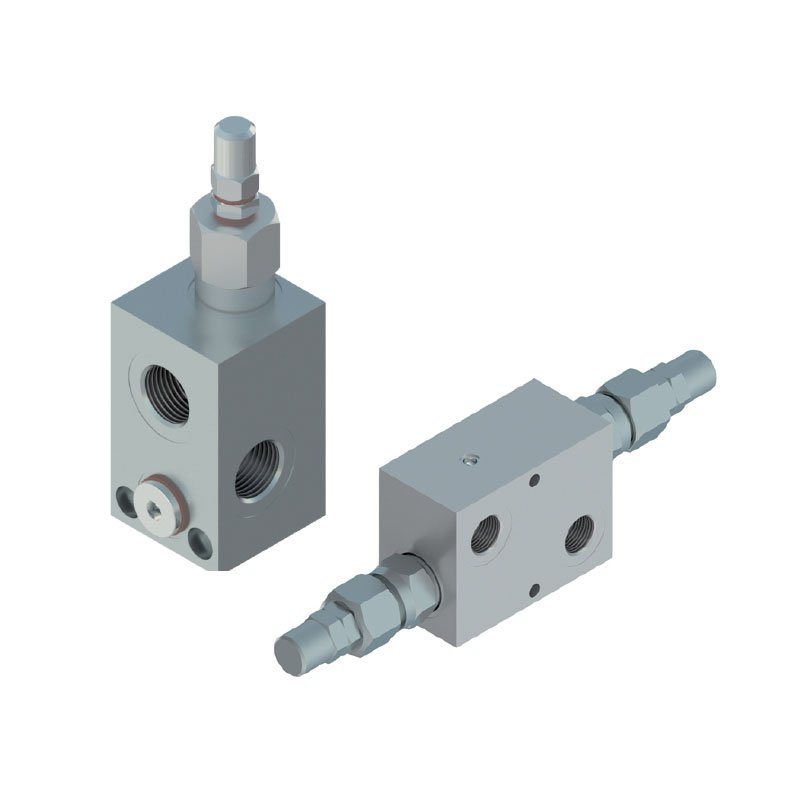 Relief valves with body