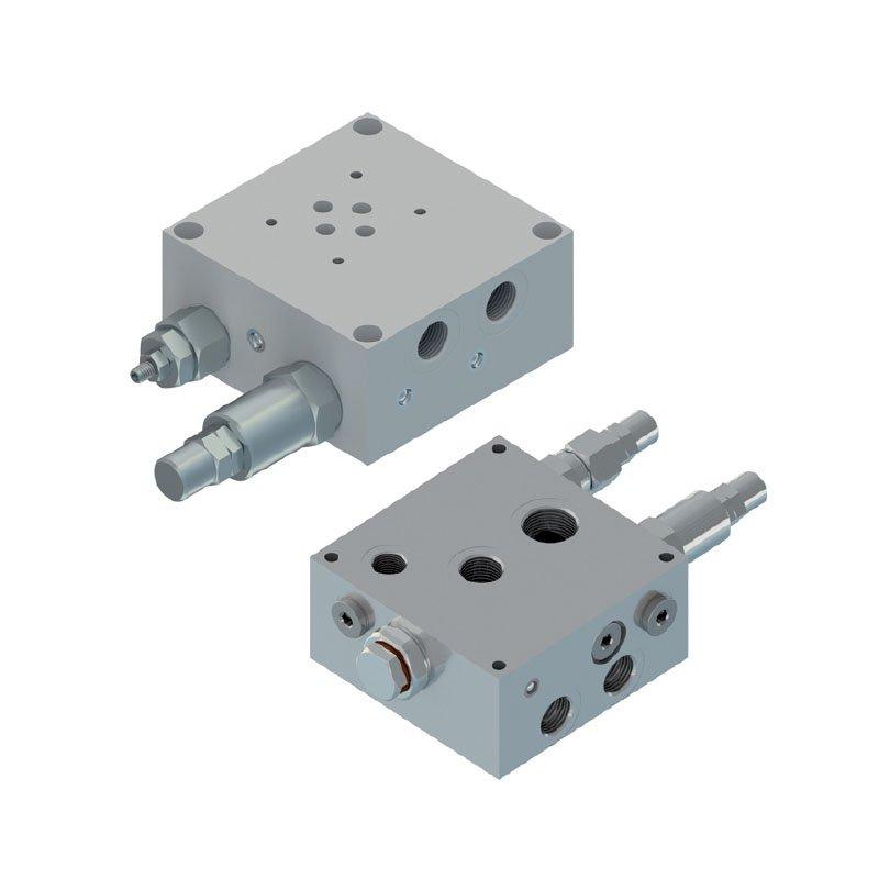 Pump unloading valves