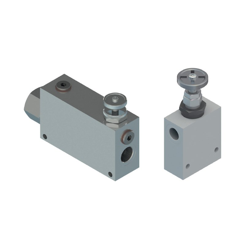 Flow control valves with body