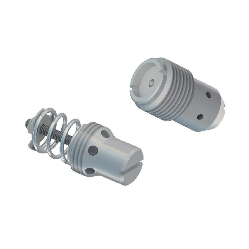 Insert type flow control valves