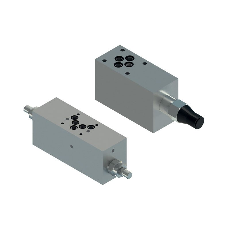 Counterbalance valves with CETOP body